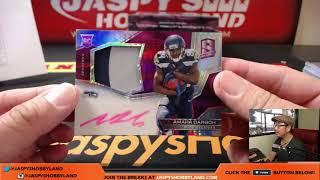 1/1 DUAL SHIELD AUTO! - Sa, 9/16/17 [4Box PYT] #11 - 2017 Panini Spectra NFL Football thumbnail