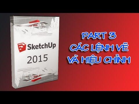 ✔ Sketchup Cơ Bản – Phần 3 – Các Lệnh Vẽ Và Lệnh Hiệu Chỉnh – PhuongTk | NESA iCAD