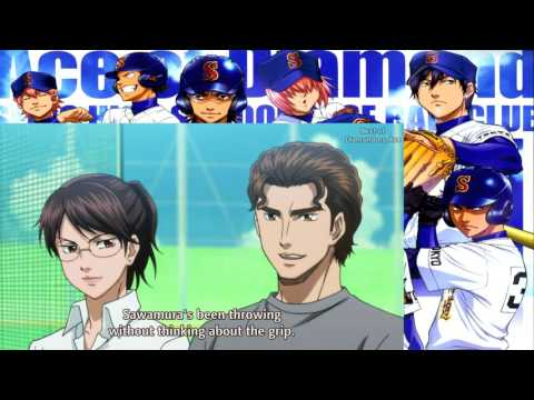 Best of Diamond no Ace #96 - Sawamura's Four seam