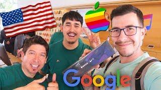 США - Посещение Apple и Google