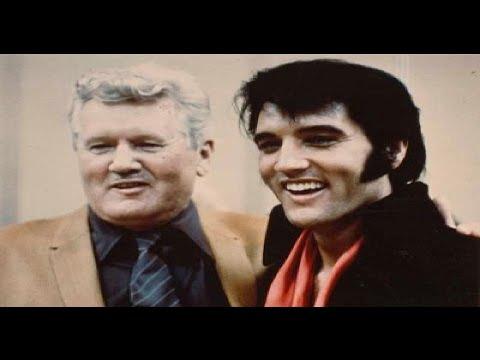 Elvis Presley with Vernon Presley