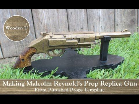 Making Malcolm Reynold's Prop Replica Gun - Wooden U