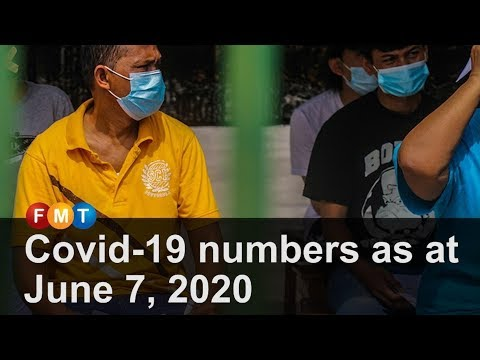 Covid-19 numbers as at June 7, 2020