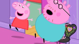 Peppa Pig Official Channel   Peppa Pig Slides in Madame Gazelle's House