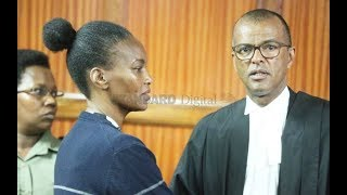 Sarah Wairimu speaks to court over murder of her late husband Tobs Cohen