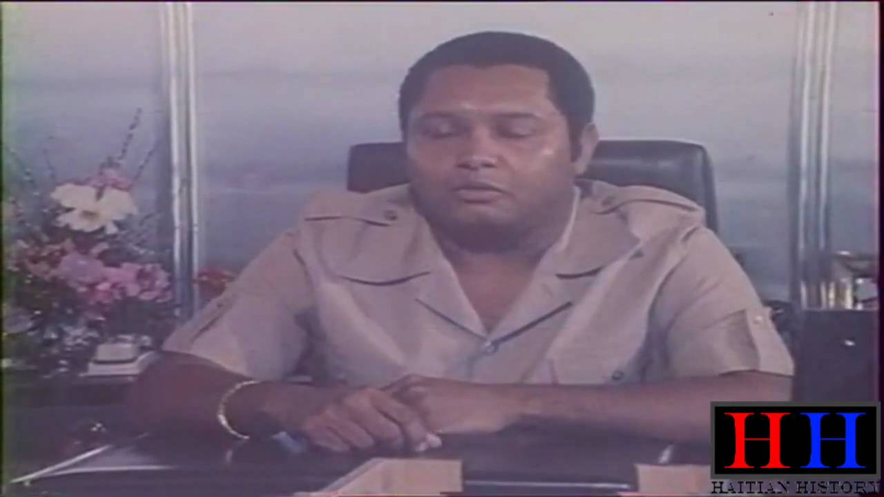 Jean Claude Duvalier Interview 1981 Part 1 2 Youtube
