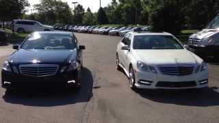 2012 vs 2011 mercedces benz e350 from crown mercedes benz of dublin oh
