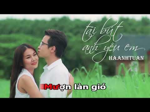 [Karaoke]Tái Bút Anh Yêu Em - Hà Anh Tuấn