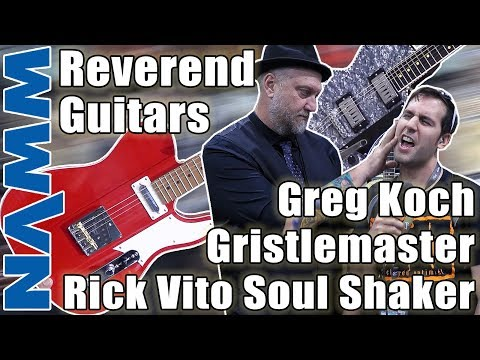 Winter NAMM 2019 | Reverend Guitars NEW MODELS | Greg Koch Gristlemaster & Rick Vito Soul Shaker Mp3
