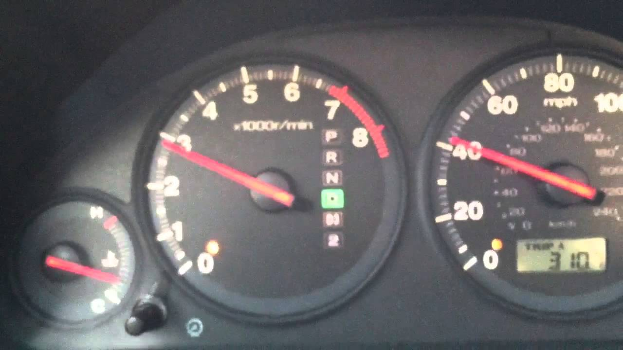 01 civic jerking during acceleration