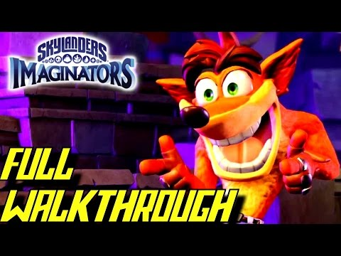 Skylanders Imaginators - Complete Walkthrough FULL Game