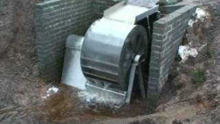 Stainless Steel Waterwheel Hydro Power