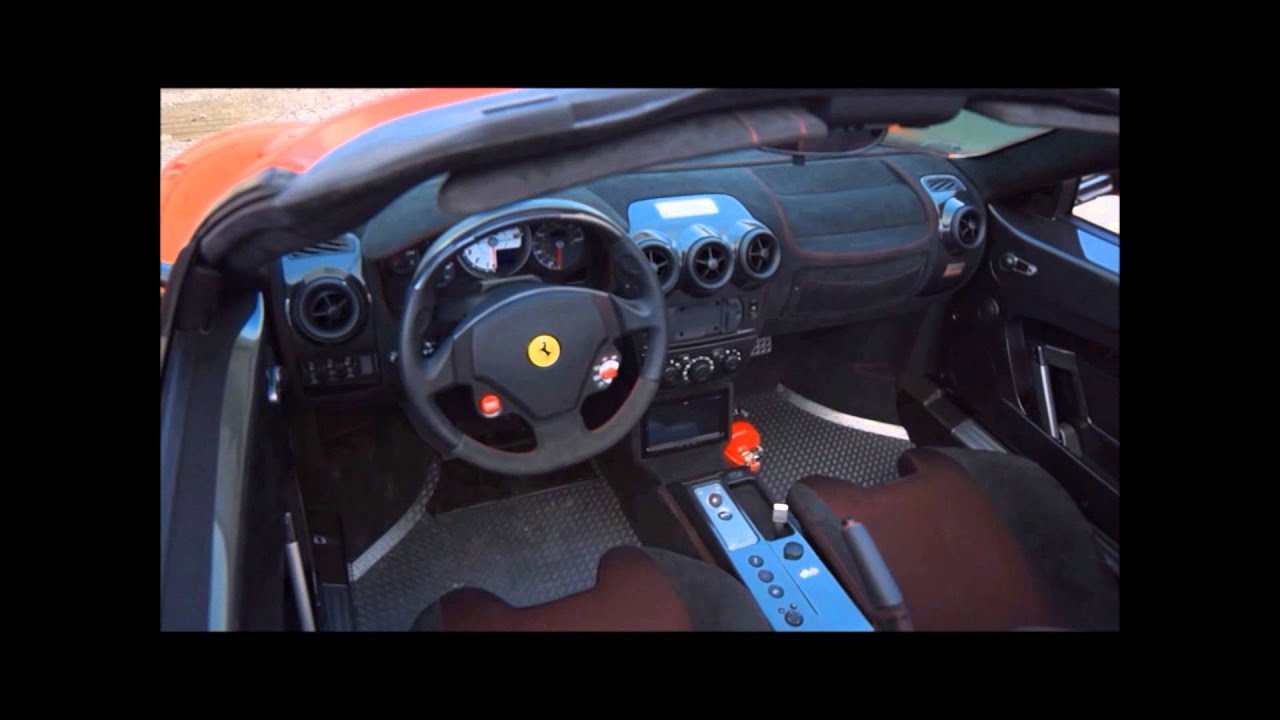 Ferrari F430 Scud 16M Custom Stereo Install By Auto Art. Www.TheAutoArt.com    YouTube