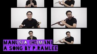 Manusia oleh Tan Sri P.Ramlee  (Cover) (Fav #7)