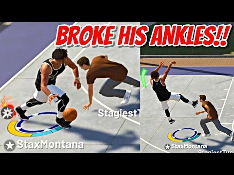 THIS IS WHAT HAPPENS WHEN THE MOST UNSTOPPABLE BUILD HITS THE PARK! - NBA 2K19 MyPARK