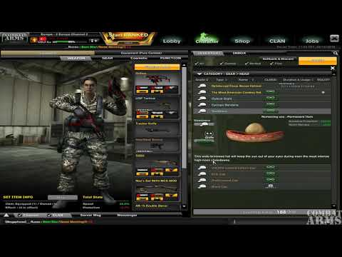 Combat Arms : The Classic ''-Aka_CrouqX'' Account Rewiew