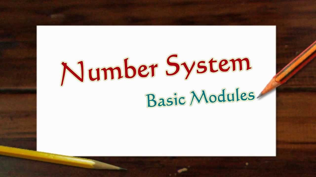 what is the use of number system in computers