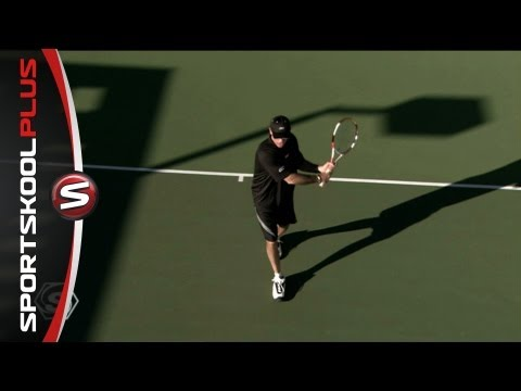 Tennis Groundstroke Drills With Coach Brad Gilbert