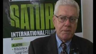 ERNESTO G. LAURA - intervista (Saturno Film Festival 2009) - WWW.RBCASTING.COM
