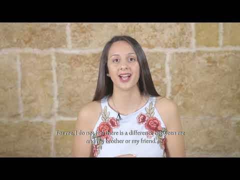 Girls and boys from Palestine talk about gender