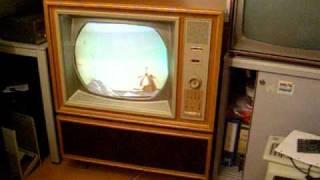 Philips 21KX100 A K4 prototype PAL colour TV