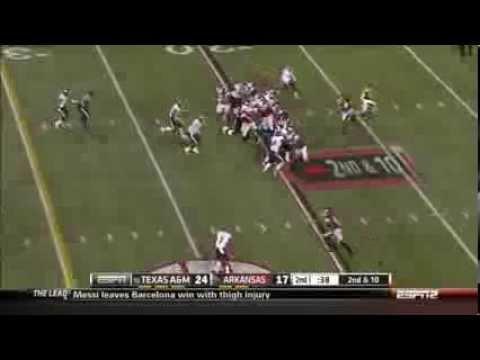 Alex Collins Arkansas Razorbacks Freshman Highlights