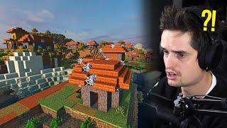 ZELDZAME ZOMBIE VILLAGE gevonden in Minecraft