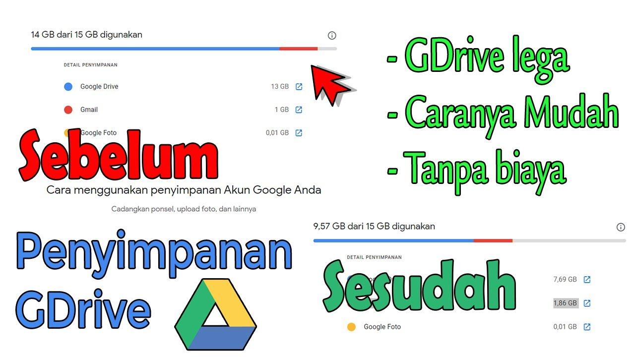 Ga Perlu Download Ini Cara Memindahkan File Antar 4kun Google Drive Youtube