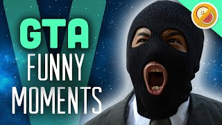 GTA 5 Online Funny Moments - Fruit Airlines, Store Robbery (Grand Theft Auto V PS4 Gameplay)