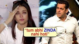 Salman Khan Says, 'If I Hit Aishwarya She Wouldn't Have Survived' | Salman On Hitting Aishwarya
