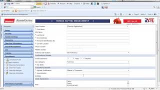 Ryte hcm - recruitment module