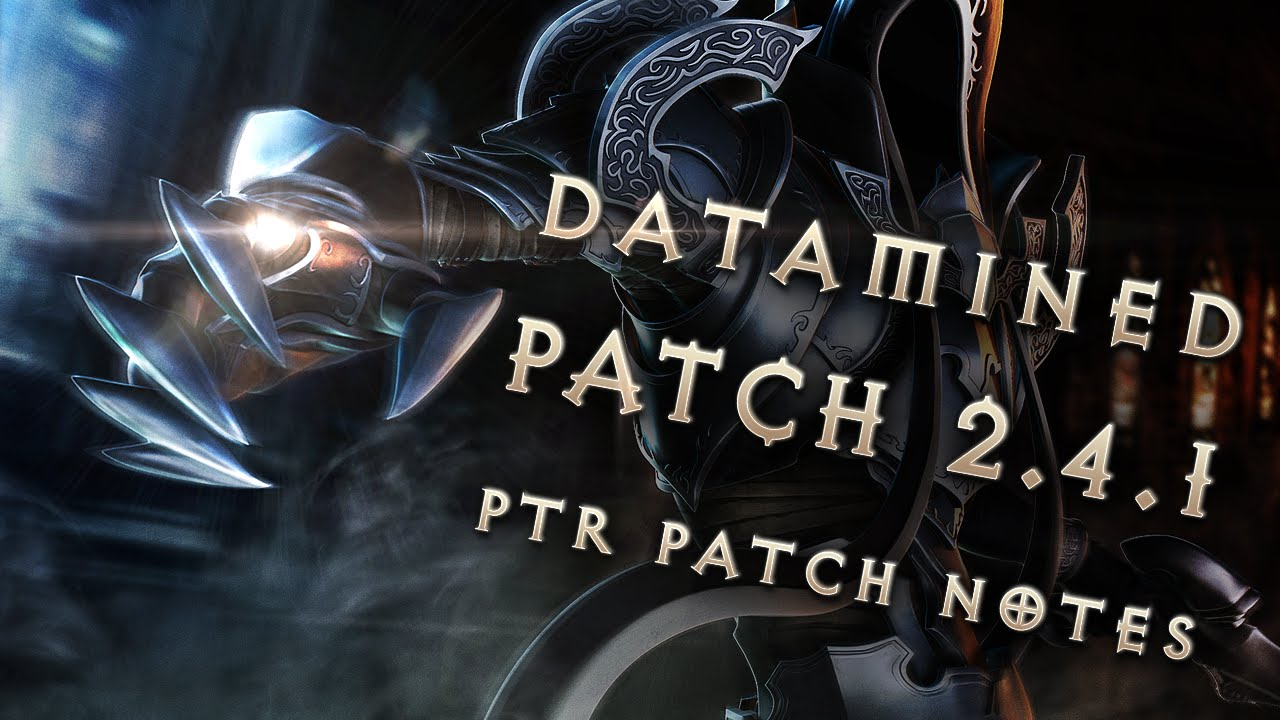 Diablo 3s latest patch is one of the games biggest