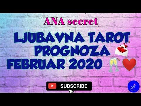 LJUBAVNA TAROT PROGNOZA FEBRUAR 2020! #anasecret #horoskop #tarot
