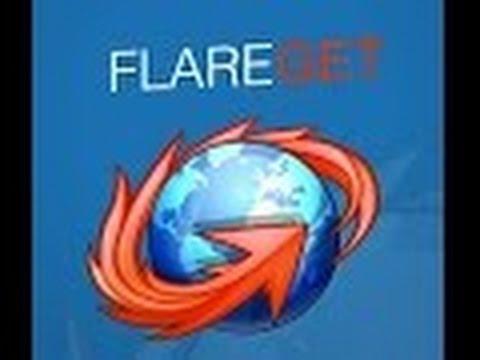 بديل idm لتنزيل البرامج والفديوهات install flareGet Download Manager on backbox