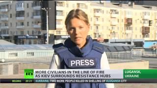 Upcoming Siege? Self-defense forces prepare for worst in Donetsk, Lugansk