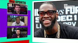 Deontay Wilder Has Some Words Floyd Mayweather | TMZ