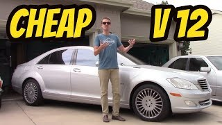 Here's What It Cost to Own a 10-Year-Old V12 Mercedes-Benz S600