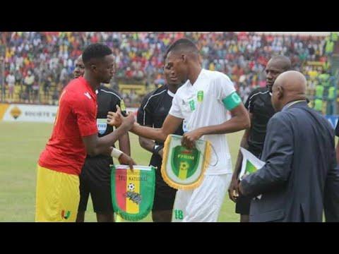 Résumé : Guinée Espoir 4-1 Mauritanie Espoir (1er Tour éliminatoire de la CAN U23 2019)