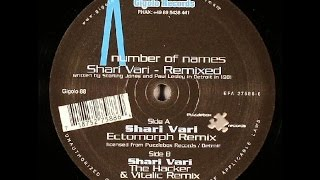A Number Of Names - Shari Vari ( The Hacker & Vitalic Remix )