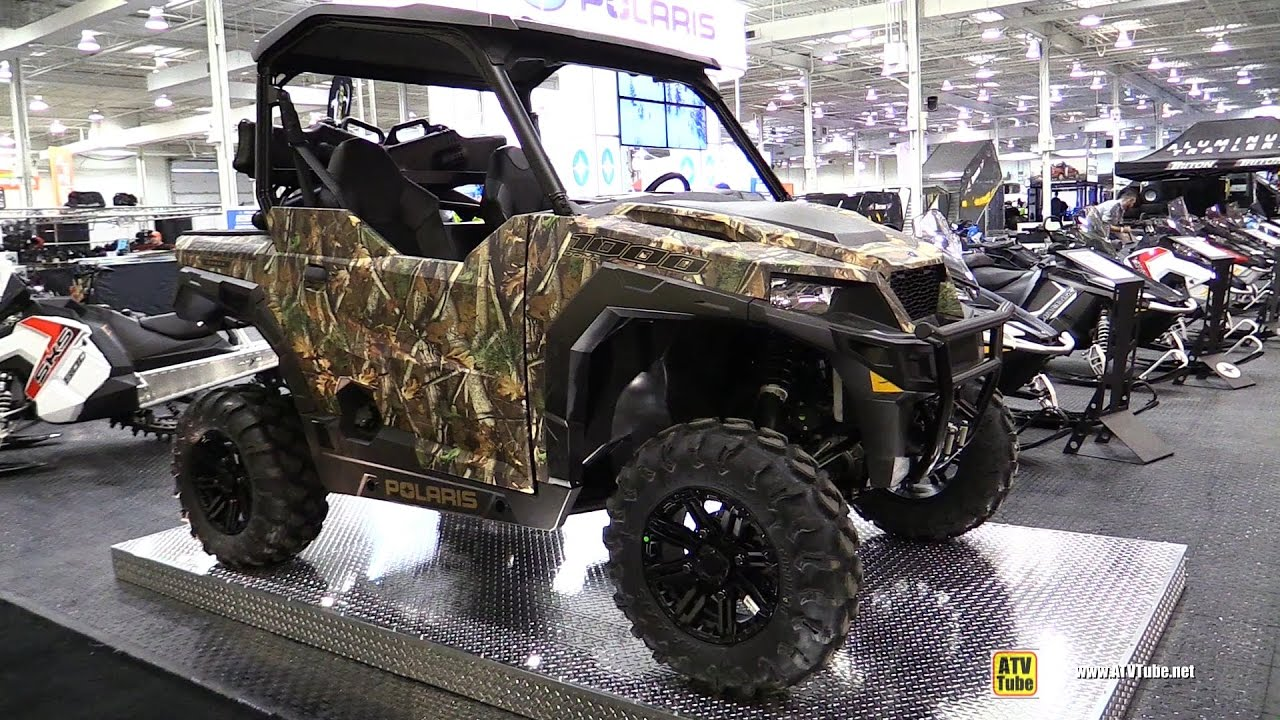 Polaris Side By Side Atv >> 2017 Polaris General 1000 Side by Side ATV - Walkaround - 2016 Toronto ATV Show - YouTube