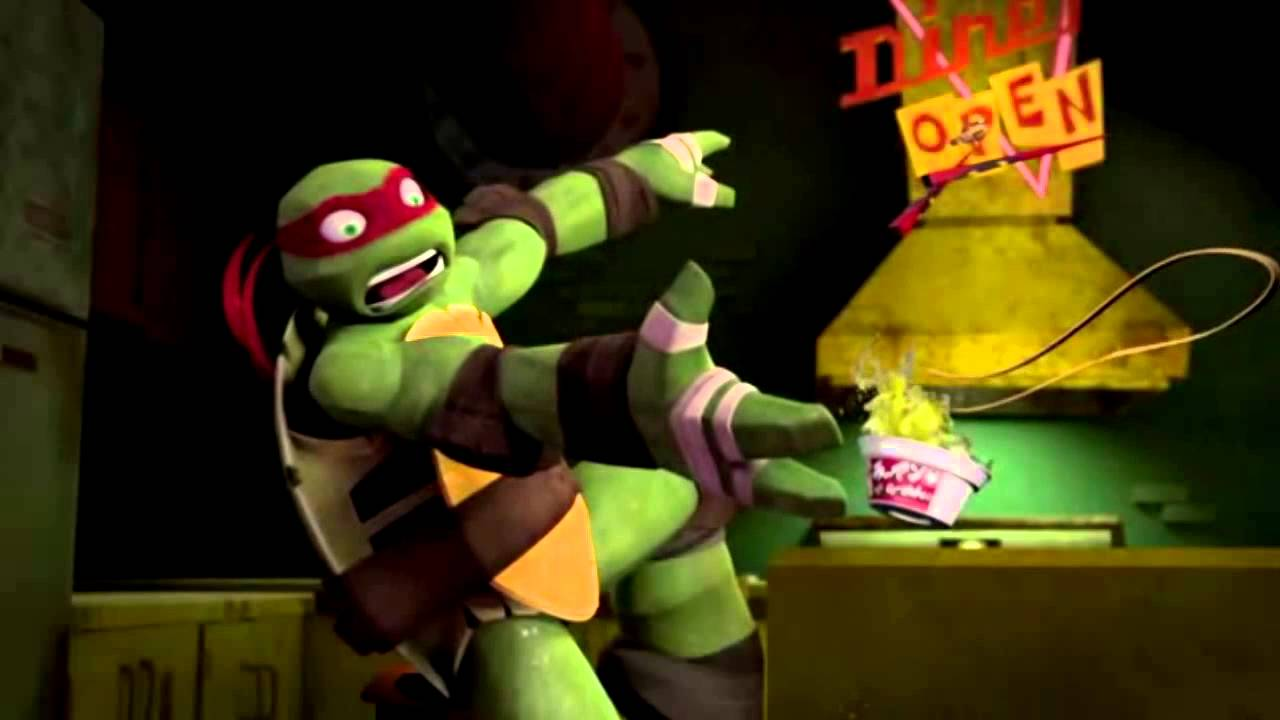 Tmnt 2012 Cute Mikey Scared Raph And Special Donnie Youtube