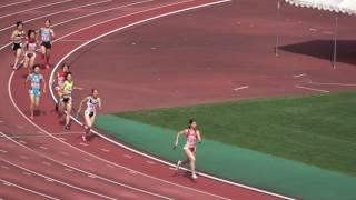 平成29年度 全国高校陸上北九州地区大会 女子4x400mR 準決勝1組