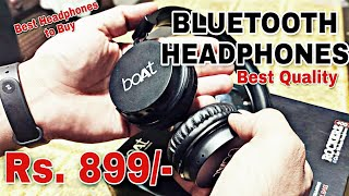 BOAT ROCKERZ 400 | BEST WIRELESS BLUETOOTH HEADPHONES | UNBOXING | REVIEW |