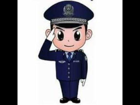 تعليم الرسم كيف ترسم شرطي خطوة بخطوة تعليم الرسم للاطفال Youtube