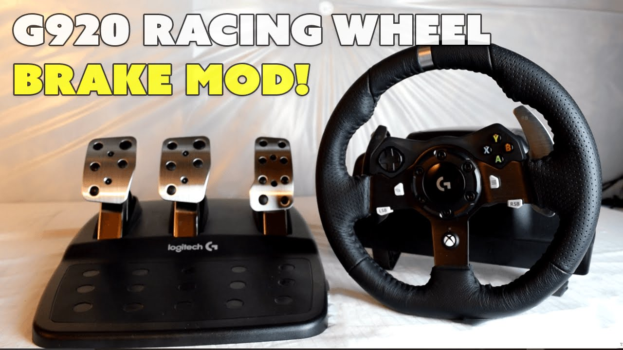 bf6a95f83d7 Brake Pedal Mod - Logitech G920 Racing Wheel - YouTube