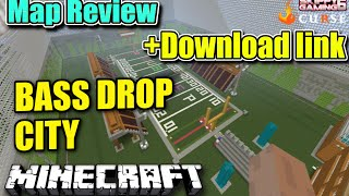 MINECRAFT - PS3 - BASS DROP CITY - MAP REVIEW + DOWNLOAD LINK ( PS4 )  SERVER UPDATE