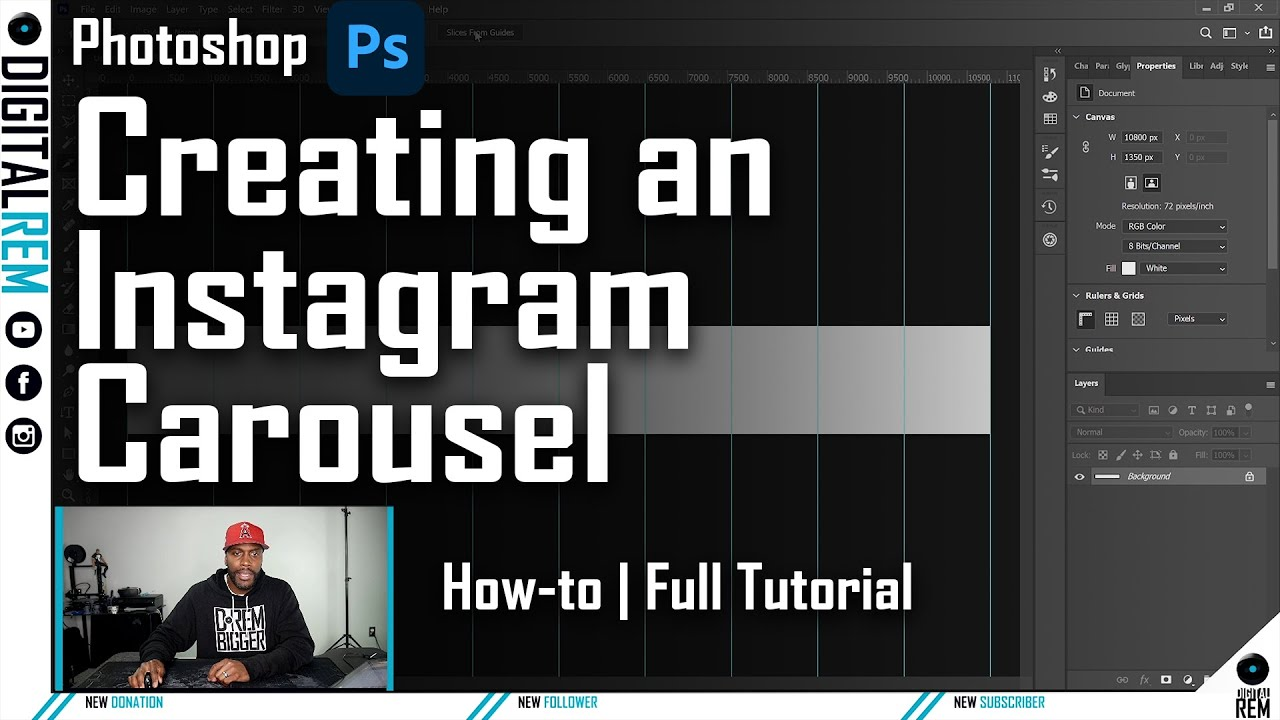 How To Create an Instagram Image Carousel in Photoshop
