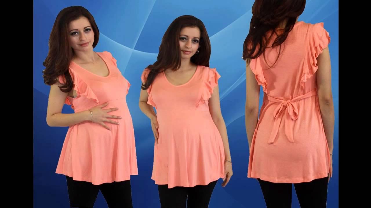 Ropa de maternidad de moda para gorditas