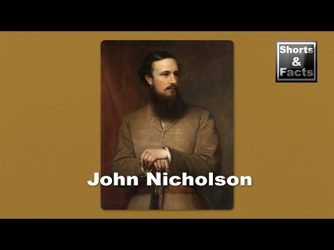 John Nicholson, the East India Company officer who inspired a cult! (Shorts & Facts) #10