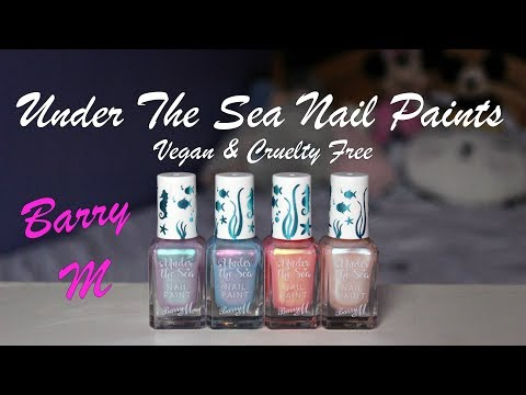 🐚Under The Sea Nail Paints🐚